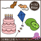 Phonics Clip Art - CVCE Words clipart