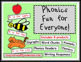 Phonics Fun for Everyone Bundle  I Teach K Conference