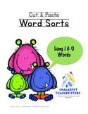 Phonics: Cut & Paste Sorts, Long I & Long O (CCSS Aligned)
