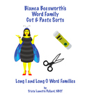 Cut and Paste Word Sorts, Long I & Long O (CCSS Aligned)