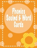 Phonics Sound and Word Cards & Fluency Sheets