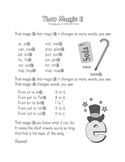 Phonics Time GIANT Poster Set for Shared Reading / Common