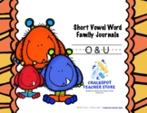 Word Family Journals: Short O & U (CCSS Aligned)