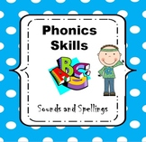 Phonics Worksheets: Sounds and Spellings