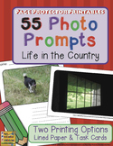 Photo Prompts: Life in the Country {Lined Journals and Tas