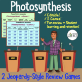 Photosynthesis Powerpoint Jeopardy Game