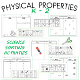 Kindergarten Common Core Physical Properties