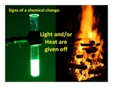 Physical and Chemical Changes PowerPoint