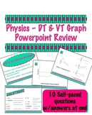 Physics DT & VT Graph Self-paced Review Powerpoint
