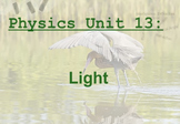 Physics Unit: Light