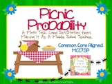 Picnic Probability Task Cards/Station ~ Common Core Aligned