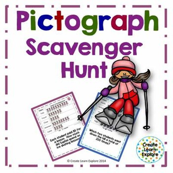 Pictograph Scavenger Hunt- Winter Activities