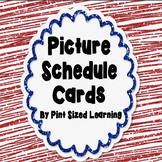 Picture Schedule Cards