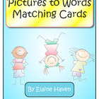 Picture to Word - Matching Cards