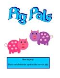 Pig pals behavior folder game