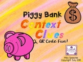 Piggy Bank Context Clues QR Code Fun