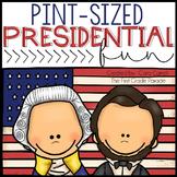 Pint-Sized Presidential Fun {Math & Literacy Mini Unit}