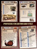 Pioneer Smartboard Unit 70 Pages Social Studies