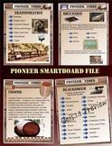 Pioneer Smartboard Unit 70 Pages Social Studies