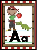 Pirate Alphabet Line Posters A-Z