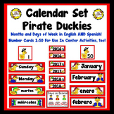 Pirate Duckies Calendar Set (English and Spanish included!)