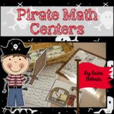 Pirate Math Centers - Common Core Based