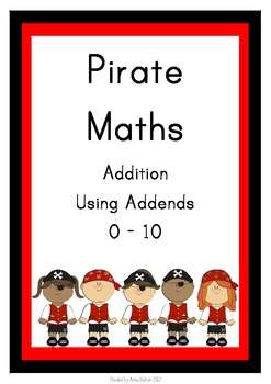 Pirate Maths - Using Addends 0 - 10