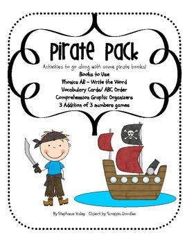 Pirate Pack - Literacy and Math Mini Pack