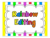 Pirate Rainbow Editing Posters
