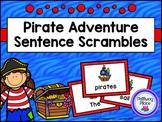 Pirate Sentence Scrambles