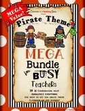 Pirate Theme Classroom MEGA Bundle
