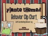 Pirate Themed Clip Chart and Behavior Log: Behavior Managm