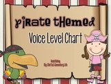 Pirate Themed Clothespin Voice Level Chart