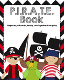 "Pirate Themed ""Take Home"" Binders with Spine Labels (1.5 i"