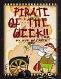 Pirate of the Week (Bulletin Board Display)