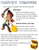 Pirate's Treasure Money Games: Common Core Aligned