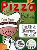 Pizza Party Math & Literacy Bundle