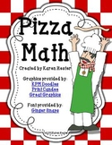 Math Centers: Pizza Pie Math