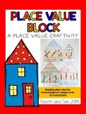 Place Value Block {a math craftivity}
