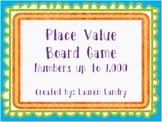 Place Value Board Game {Standard Form, Expanded Form, Base