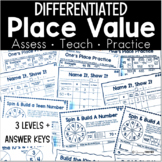 Place Value - Differentiated Practice