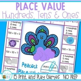 Place Value Games to 1,000 -  NO PREP Games and Interactiv