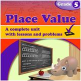 Place Value, Grade 5