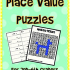 Place Value Pictures - Grades 2nd - 6th grade
