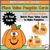 Place Value Pumpkins to 100's Place