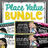 Place Value Task Card BUNDLE!