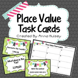 Place Value to the Millions: Task Cards & Spin to Win!