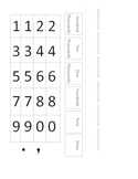 Place Value Template!