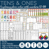 Place Value: Tens and Ones, Exploring Place Value with Num