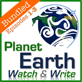 Planet Earth: Watch & Write DISC 1 BUNDLE (Episodes 1-3)